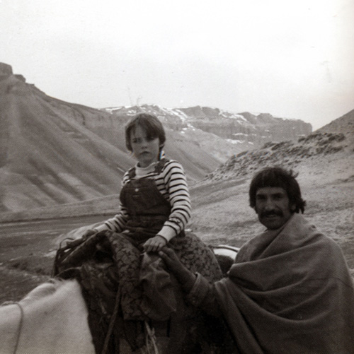 Matteo Boetti and Dastaghir in Afganistan, 1977