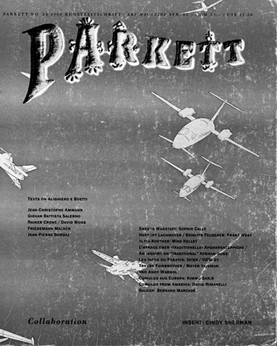 Cover Parkett, No. 24, June, 1990