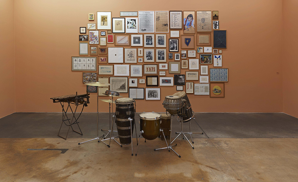 Muro, 1972-1993, istallazione di 75 elementi.