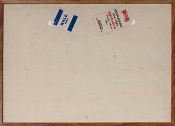 Sale-e-zucchero-1973-timbri-e-matita-su-carta-10-elementi,-cm-50-X-70-cad.c