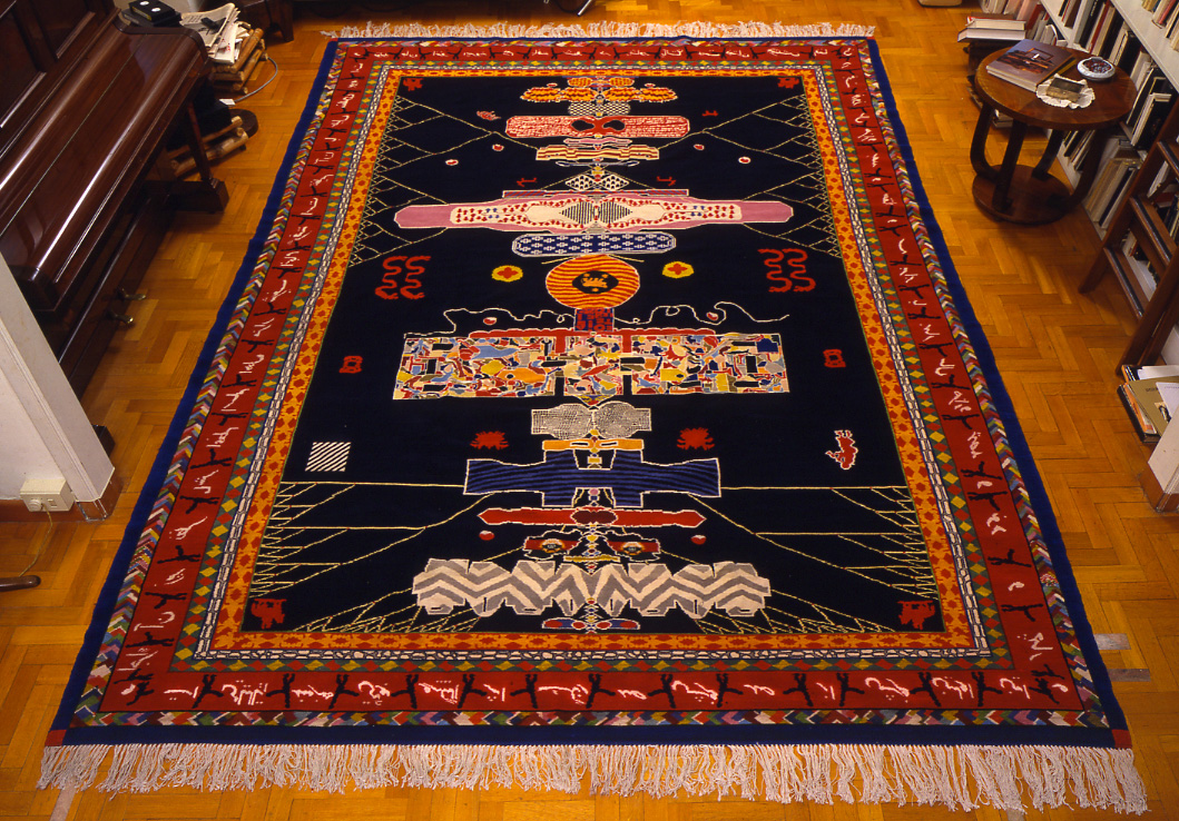 Senza-titolo-1994--95-tappeto-in-lana-e-cotone-cm-372-X-295