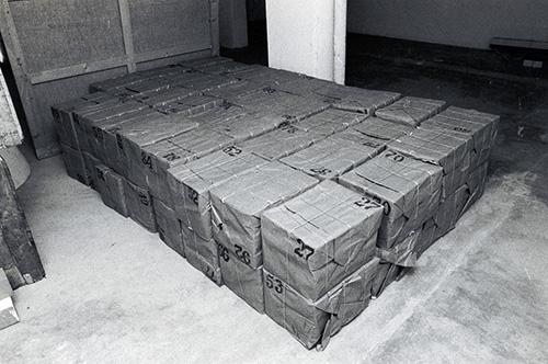 i 99 Dossier Postali terminati a Milano nel 1971, foto di Giorgio Colombo