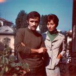 Alighiero Boetti e Annemarie Boetti metà anni '60 a Torino. Courtesy Agata Boetti