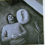 Alighiero Boetti ritratto e autoritratto in negativo 1969