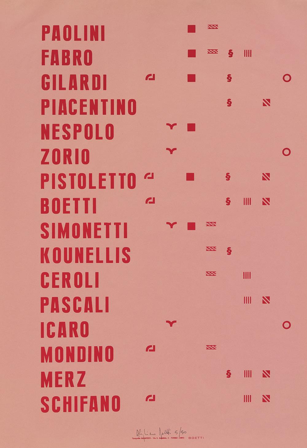 Manifesto-1967,-stampa-offset;-edizione-in-800-esemplari-di-cui-50-firmati-e-numerati-da-1-a-50,-cm-100-X-70