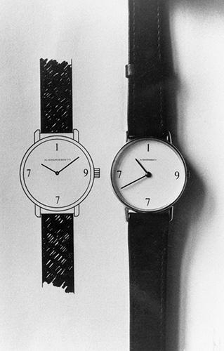 Orologio Annuale con disegno preparatorio - Foto di Giorgio Colombo